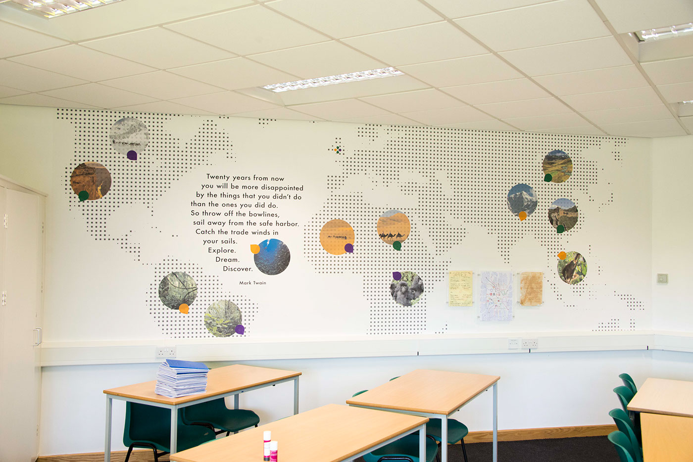Redditch Humanities Classrooms
