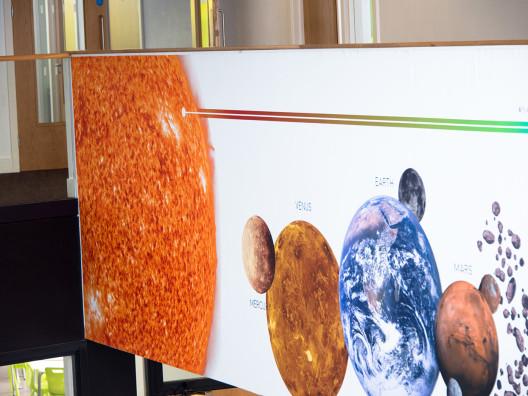Solar System Hub Display
