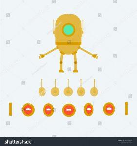 Shutterstock robot